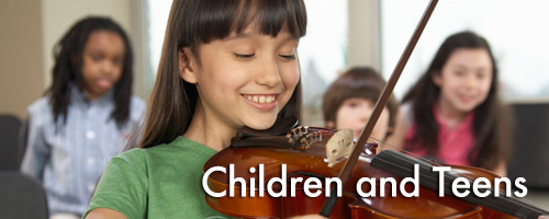 Children and Teens Banner